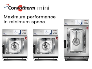 They're small and efficient. It's the Convotherm mini series.