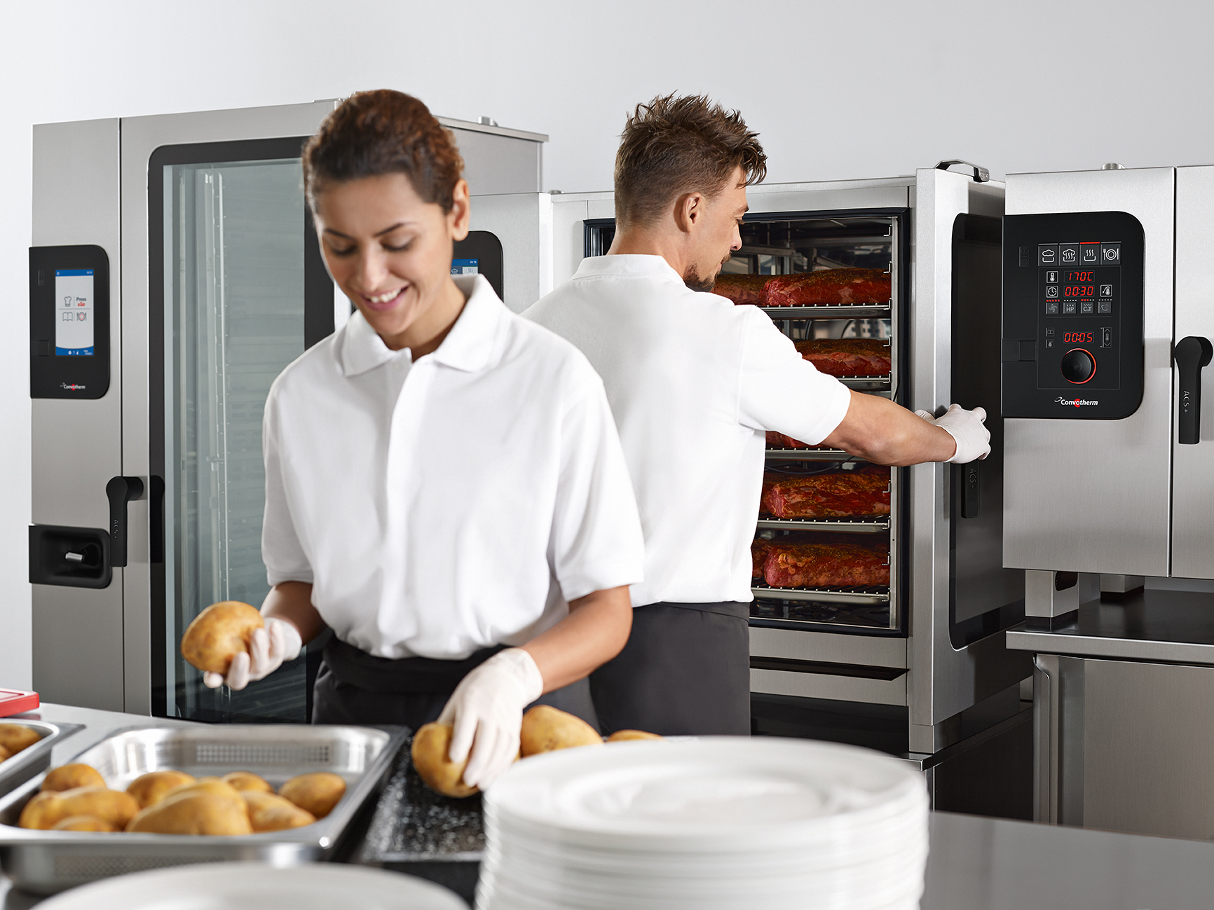 New Disappearing Door ensures easy access to your cooking and a safer work environment