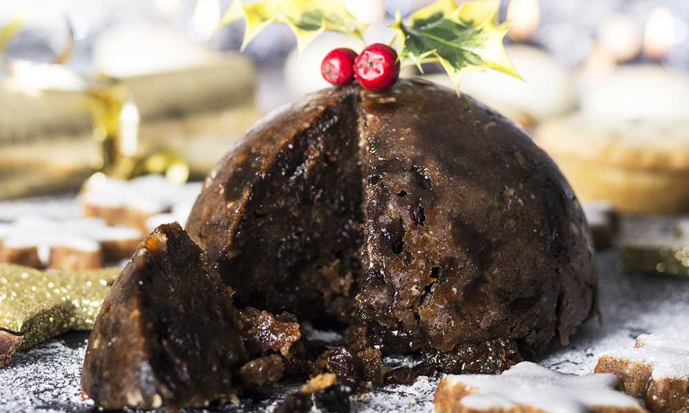 Commercial Christmas pudding recipe