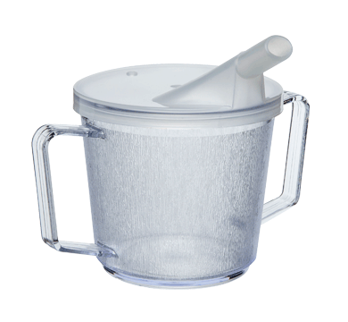 ATR two handled tumbler with feeder lid