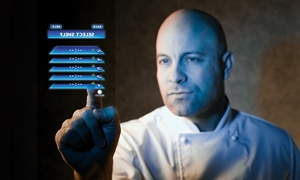 Why will you love touch screen panels on your Turbofan kitchen equipment?