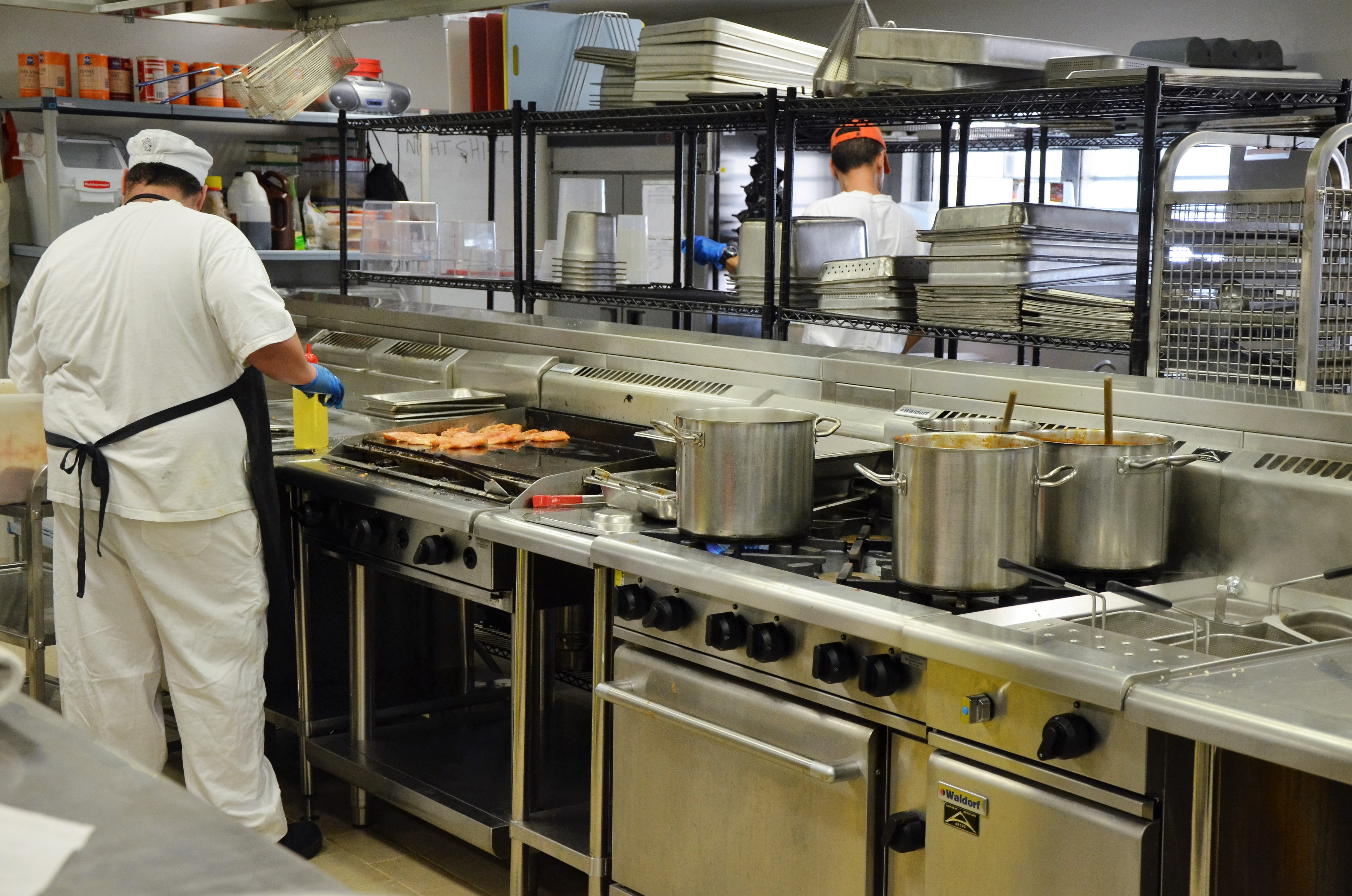 Acacia Prison created a new commercial-grade kitchen and hospitality suite featuring the latest technology and equipment.