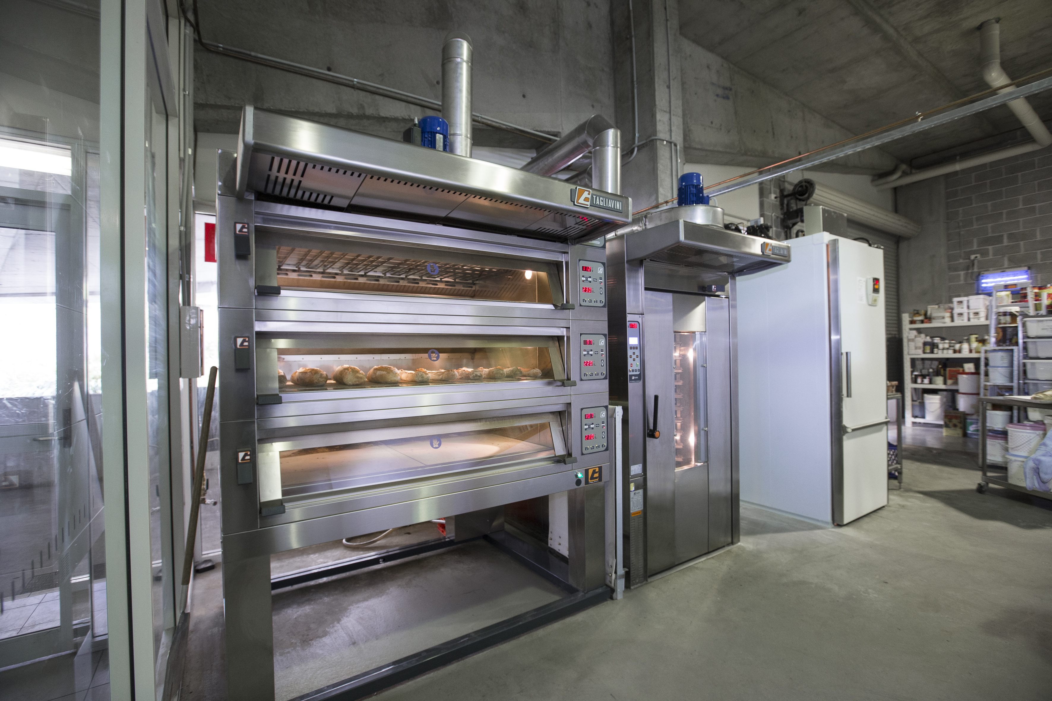 From humble beginnings with a small commercial oven for their desserts they now enjoy a variety of first-class kitchen equipment.
