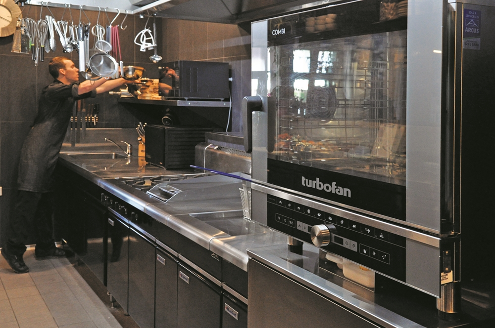The combi-steam oven will form the centrepiece of any kitchen.
