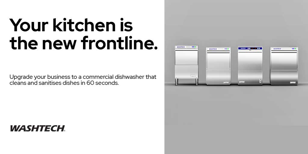 washtech - your kitchen is the new frontline